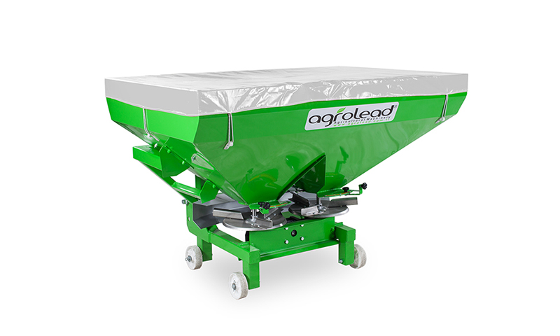 Exoteric Fertilizer Spreader Double Disc
