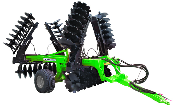 V Type Foldable Offset Goble Disc Harrow