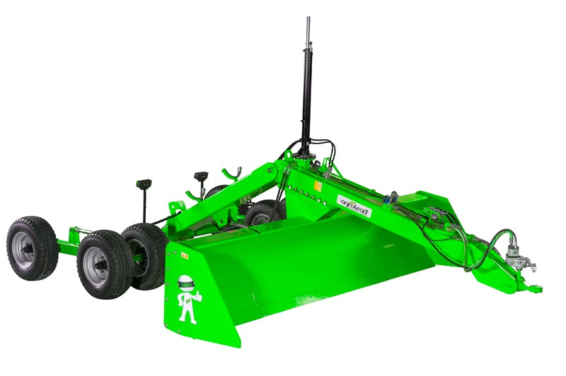 Laser Controlled Land Levelers